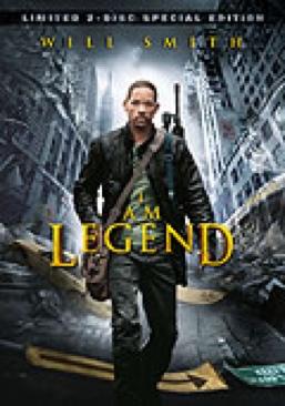 I Am Legend (I Am Legend) - DVD cover