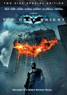 Batman - The Dark Knight - DVD cover