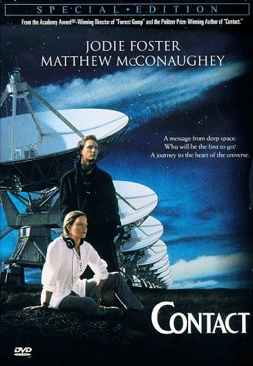 Contact - DVD cover