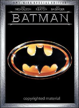 Batman: The Motion Picture Anthology 1989-1997 - DVD cover