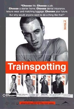 Trainspotting - Laser Disc cover