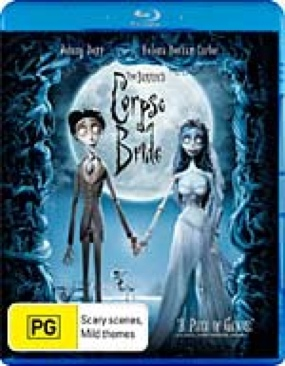 Corpse Bride - Blu-ray cover