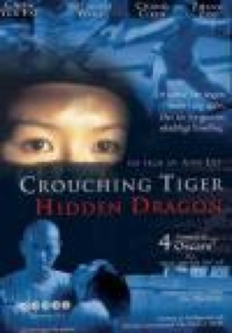 Crouching Tiger, Hidden Dragon - Blu-ray cover