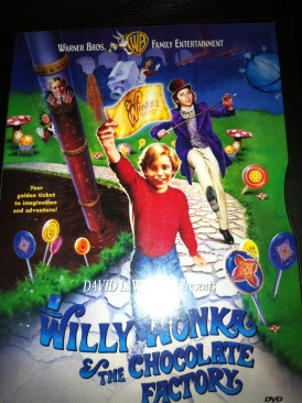 Willy Wonka & the Chocolate Factory - DVD cover