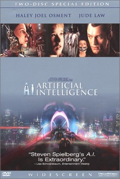 Artificial Intelligence - DVD cover
