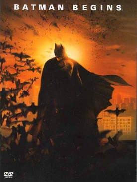 Batman Begins - VHS cover