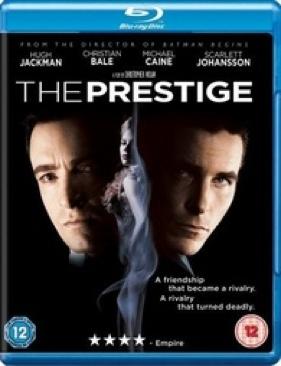 The Prestige - Blu-ray cover
