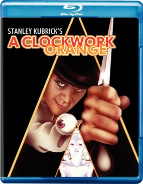 A Clockwork Orange - Blu-ray cover