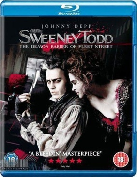 Sweeney Todd: The Demon Barber Of Fleet Street - Blu-ray cover