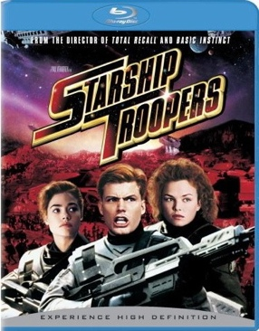 Starship Troopers - Blu-ray cover