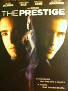 The Prestige - DVD cover