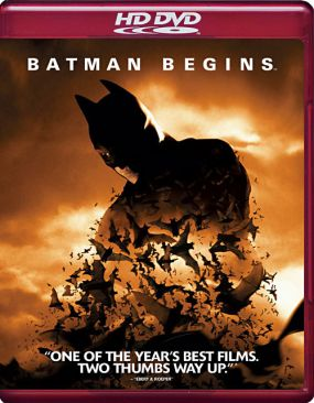Batman Begins - HD DVD cover