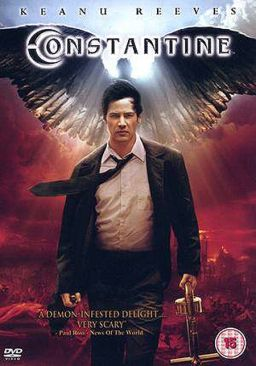 Constantine - DVD cover
