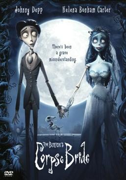 Corpse Bride - DVD cover