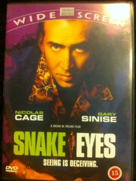 Snake Eyes - DVD cover