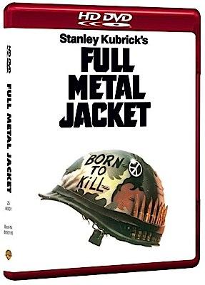 Full Metal Jacket - HD DVD cover