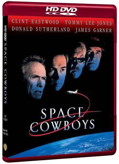 Space Cowboys - HD DVD cover