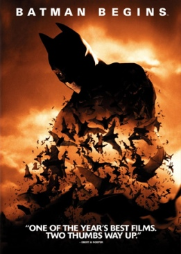Batman 5: Begins - Blu-ray cover