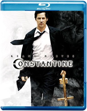 Constantine - Blu-ray cover