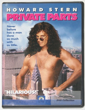 Private Parts - DVD cover