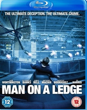 Man On A Ledge - Blu-ray cover