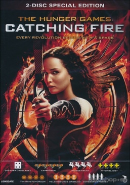 The Hunger Games: Catching Fire - DVD cover