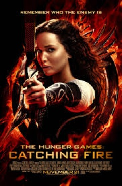The Hunger Games 2 : Catching Fire - Blu-ray cover