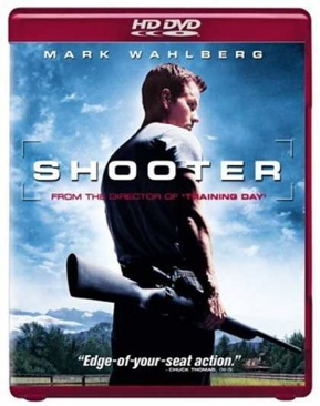 Shooter - HD DVD cover