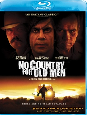 No Country For Old Men - Blu-ray cover