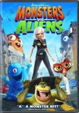 Monsters vs Aliens - DVD cover