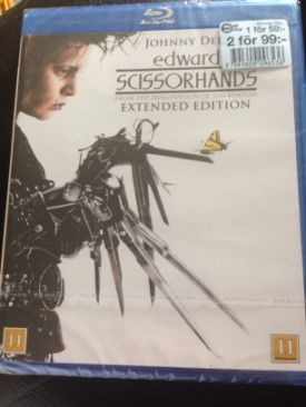 Edward Scissorhands - Blu-ray cover