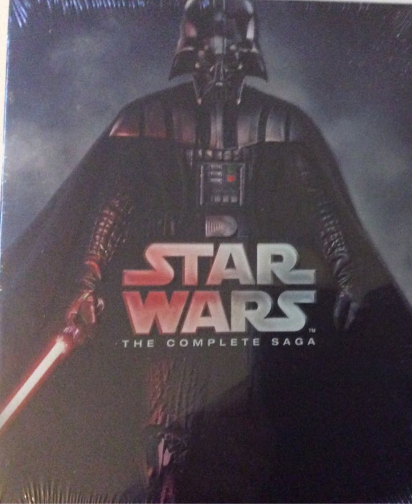 Star Wars: The Complete Saga - The Phantom Menace - Blu-ray cover