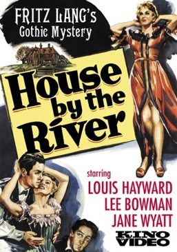 House by the River - DVD cover