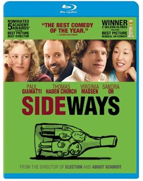 Sideways - Blu-ray cover