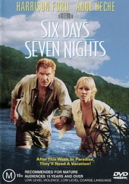 Six Days, Seven Nights - Video CD cover