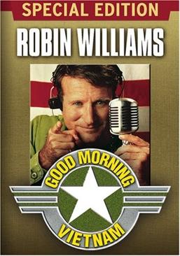 Good Morning Vietnam - DVD cover