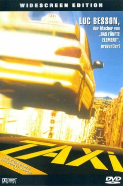 Taxi - DVD cover