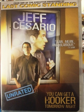 Jeff Cesario - DVD cover