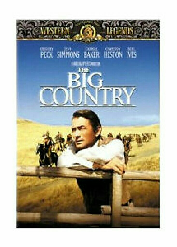 The Big Country -  cover