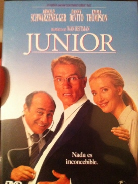 Junior - DVD cover