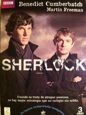 Sherlock - DVD cover