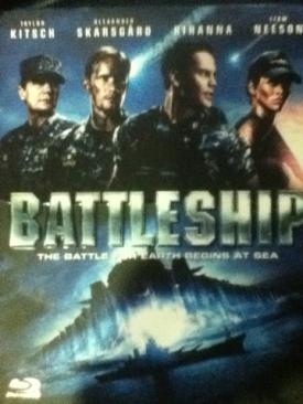 Battleship - Blu-ray cover