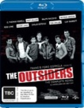 The Outsiders - Blu-ray cover
