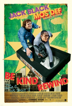 Be Kind Rewind - DVD cover