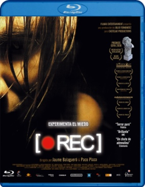 Rec - Blu-ray cover