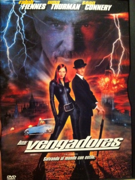 The Avengers - DVD cover