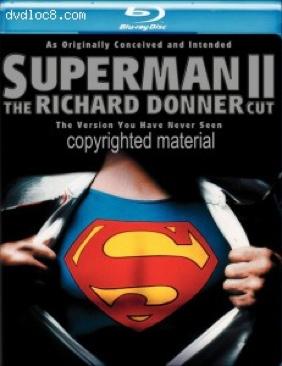 Superman II - Blu-ray cover