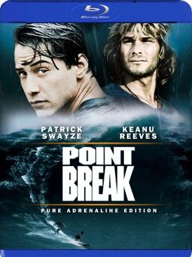 Point Break - Blu-ray cover