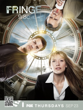 Fringe - Blu-ray cover