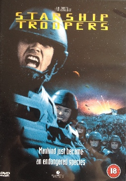Starship Troopers - DVD cover
